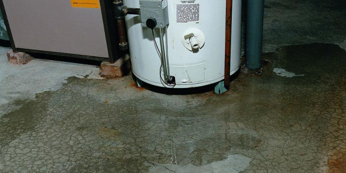 water heater leakage problem